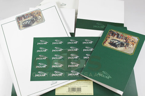 Jaguar Collection Briefpapier-Set Pit Stop Le Mans 77-teilig