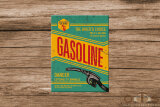 Gasoline Bikers Choice Magnet 6 x 8 cm