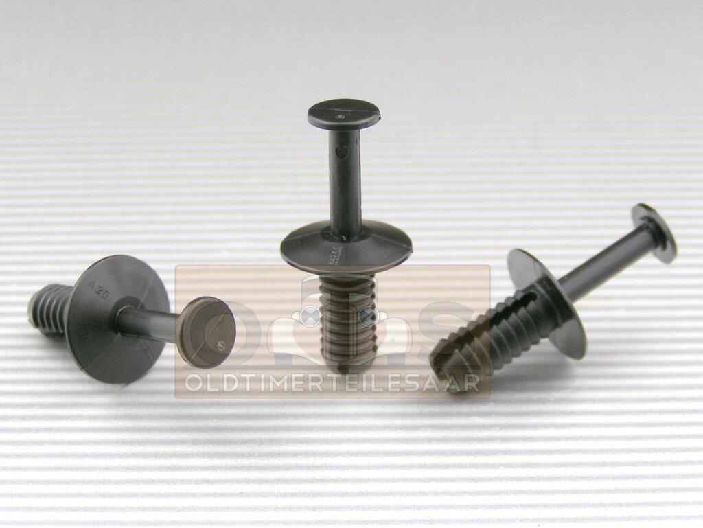 2 tlg spreizniet 6 0 6 2 mm bohrung pa66 vw bmw mercedes 4251401612118 2305 2300 made in germany. Black Bedroom Furniture Sets. Home Design Ideas
