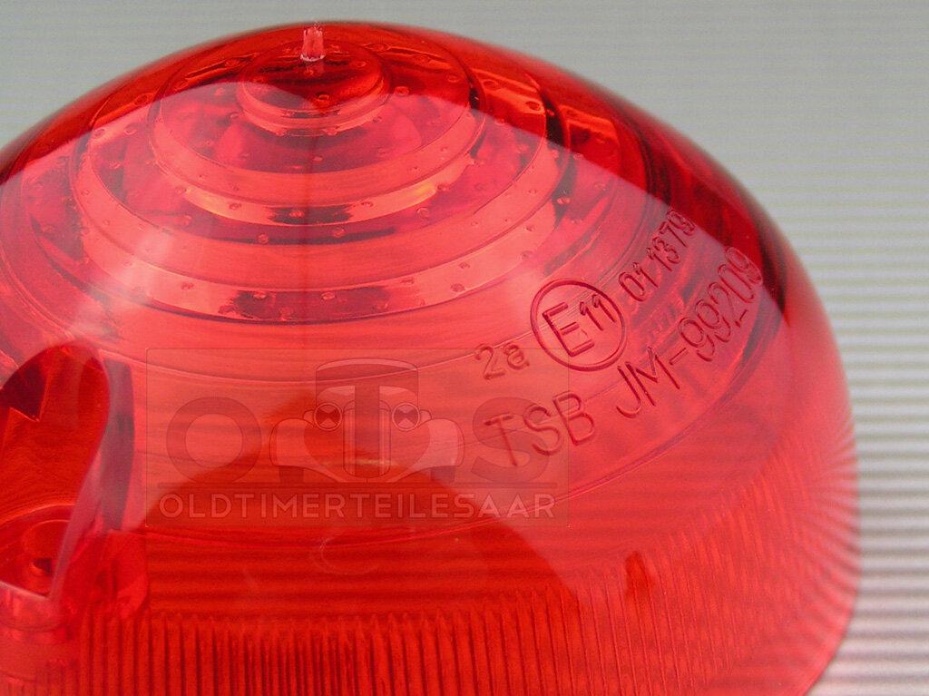 Rücklichtglas für LUCAS L760 Brems-/Schlussleuchte E-geprüft