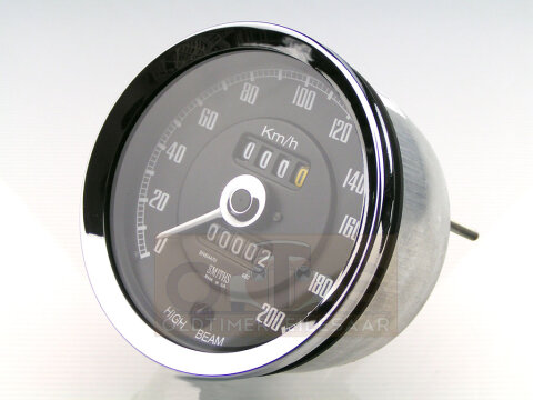 SMITHS MG Tacho 0-200 km/h 100 mm NEU
