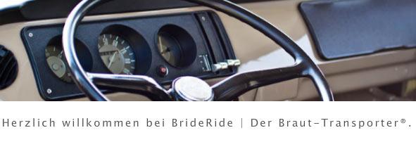 BrideRide | Der Hochzeits-Transporter