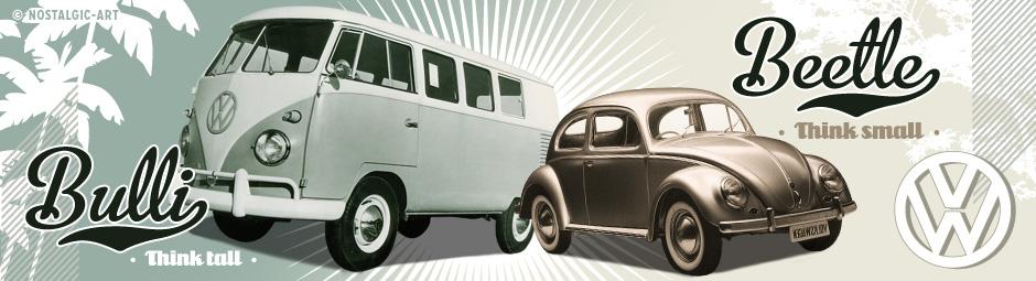 VW Bulli & Beetle